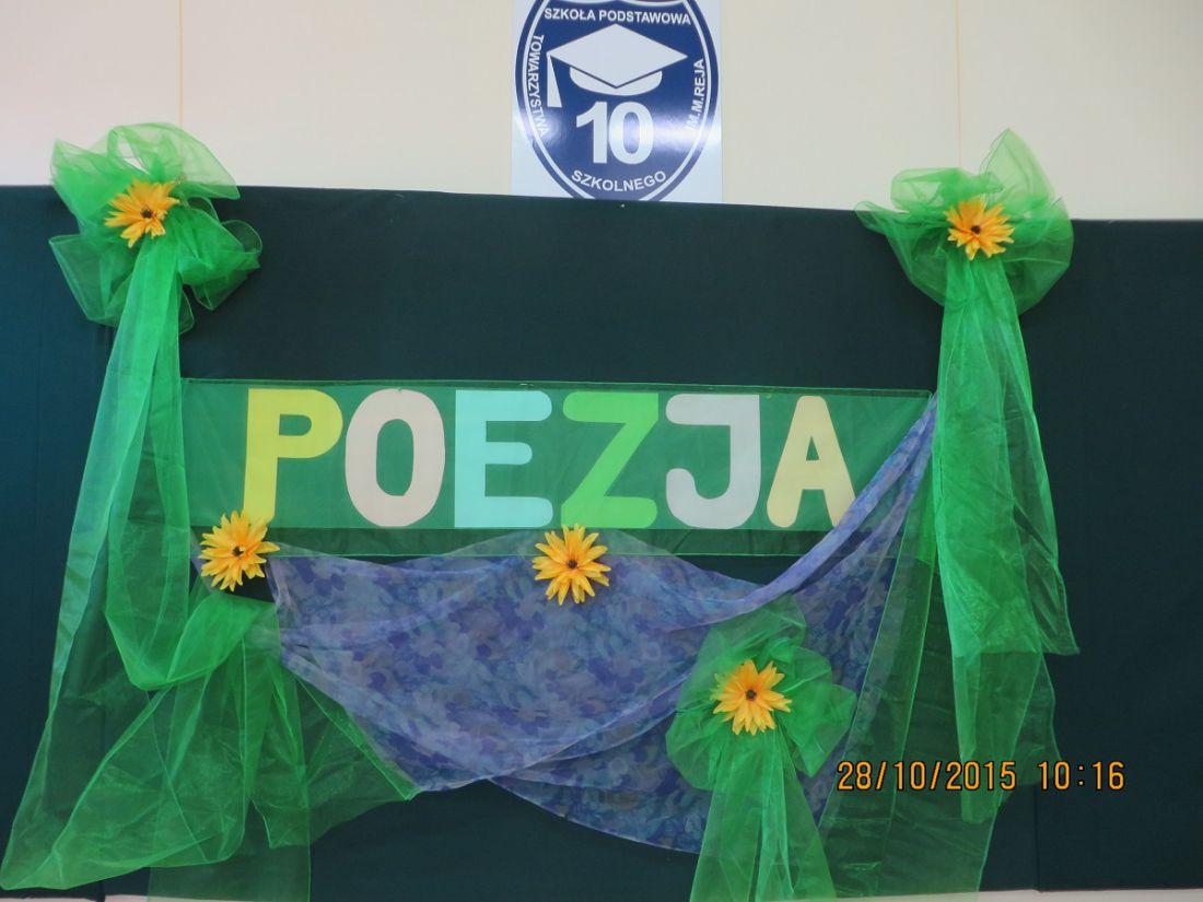 Jesienny Konkurs Recytatorski Dla Klas I Iii Poezja Bawi I