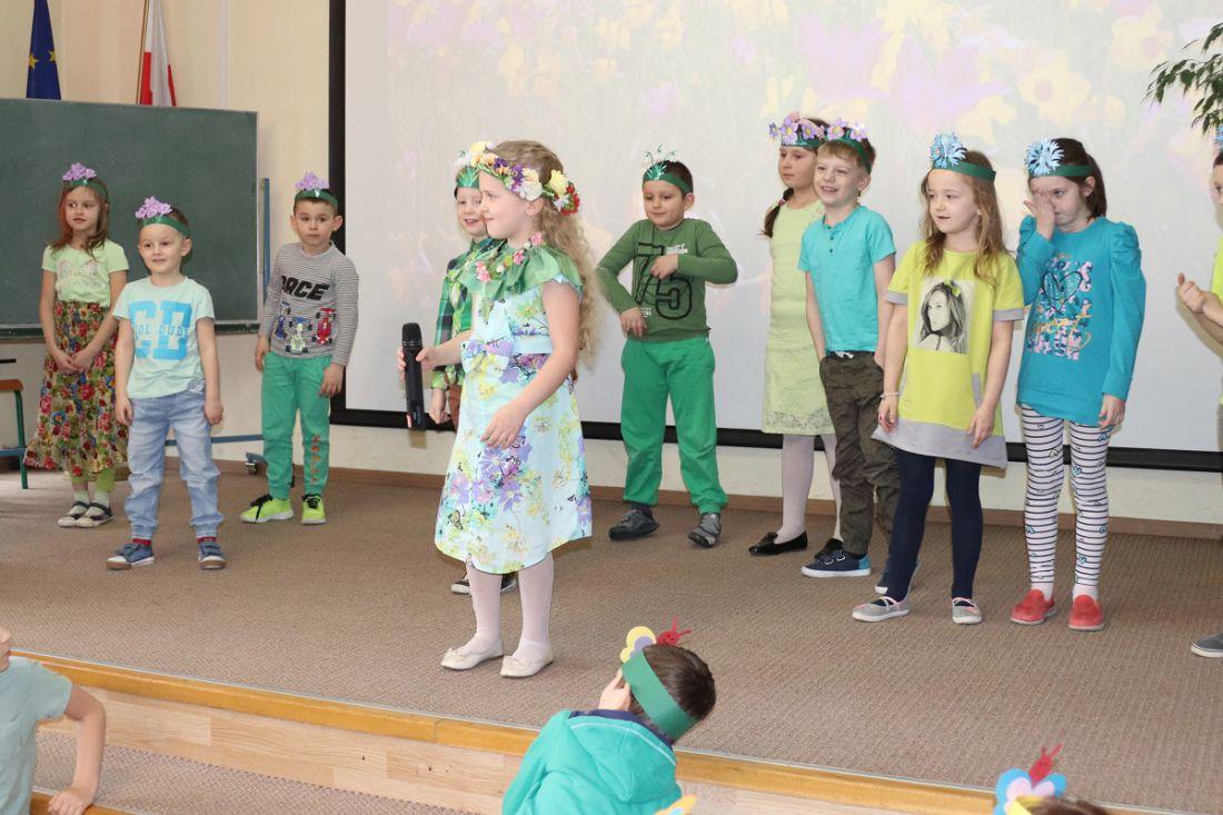 Powitanie Wiosny Szkoła Podstawowa Nr 10 W Bielsku Białej